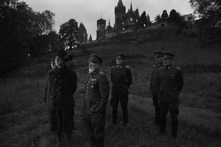 Militär mit Nyssen und Seegers