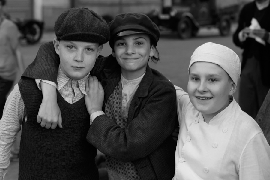Kinder auf der Strasse